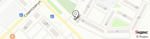 Почтовое отделение №9 на карте Ноябрьска