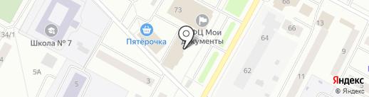 Фэшн на карте Ноябрьска