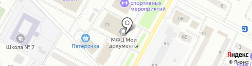Банкомат, Банк ФК Открытие, ПАО на карте Ноябрьска