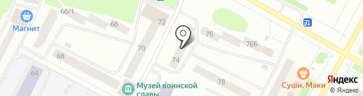 Рейнджер на карте Ноябрьска