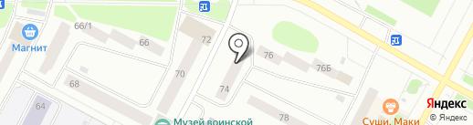 Мальчишки и Девчонки на карте Ноябрьска