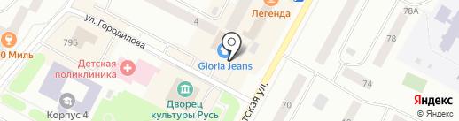Чердак на карте Ноябрьска