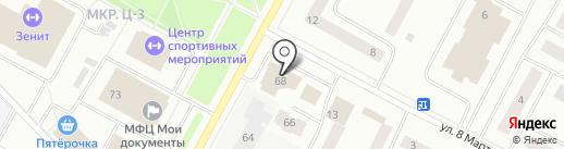 Магазин горящих путевок на карте Ноябрьска