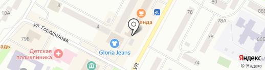Сдобушка на карте Ноябрьска