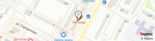 Cofein на карте Ноябрьска