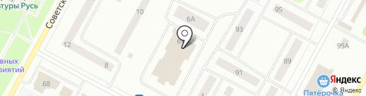 Велес на карте Ноябрьска