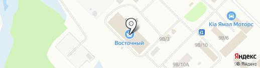 Гарант на карте Ноябрьска