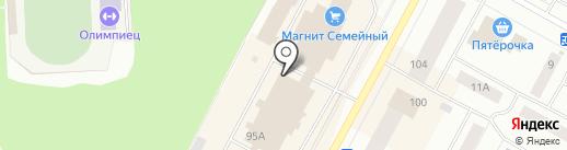 Гамма на карте Ноябрьска