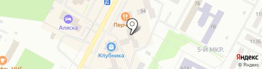 Эрос на карте Ноябрьска