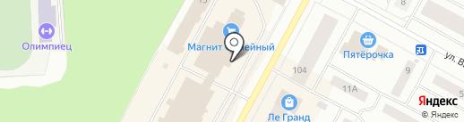 Zima на карте Ноябрьска