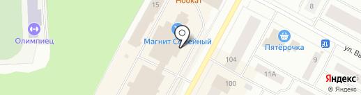 Аптечный пункт на карте Ноябрьска