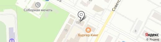 Ноокат на карте Ноябрьска