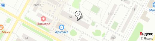 Окна Мастер на карте Ноябрьска