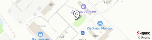 ЗОДЧИЙ на карте Ноябрьска