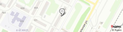 МаксСнабАвто на карте Ноябрьска