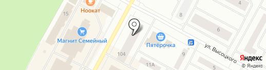Фортуна на карте Ноябрьска