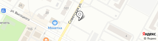 Украинский хлеб на карте Ноябрьска