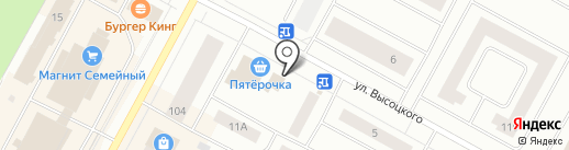 Оригинал на карте Ноябрьска