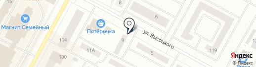 Премьер на карте Ноябрьска