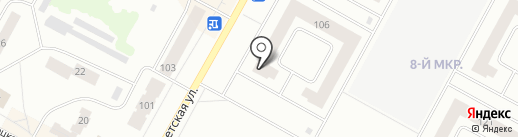 Радуга, ТСЖ на карте Ноябрьска