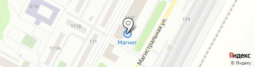 Магнит Косметик на карте Ноябрьска