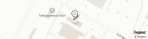 Дорожное ремонтно-строительное управление на карте Ноябрьска