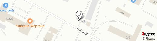 Стамина на карте Ноябрьска