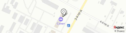 Сервисный центр на карте Ноябрьска