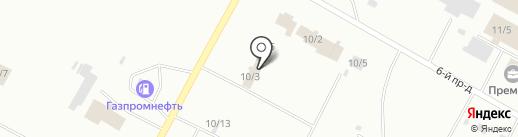 Авторалли на карте Ноябрьска