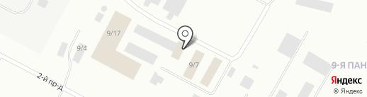 Аккумуляторный Дом на карте Ноябрьска