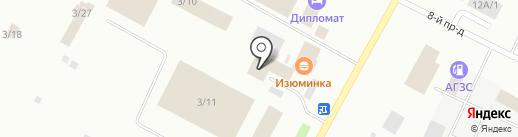 Резон-авто на карте Ноябрьска