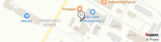 Автодизель на карте Ноябрьска
