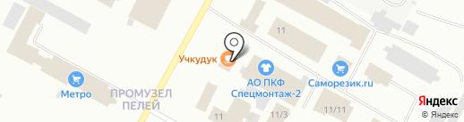 Узбекская лепешка на карте Ноябрьска