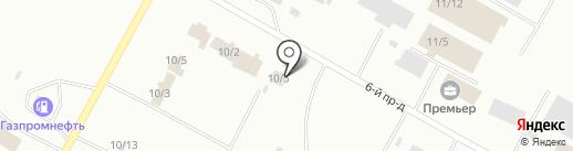 ЯмалИнвестСервис на карте Ноябрьска