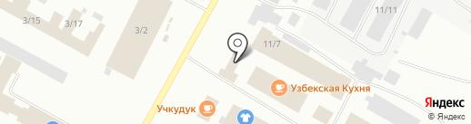 Три в одном на карте Ноябрьска