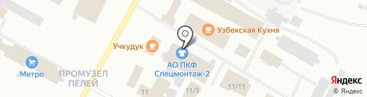 Магазин спецодежды и инструмента на карте Ноябрьска