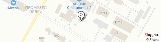 Торговый дом метизов на карте Ноябрьска