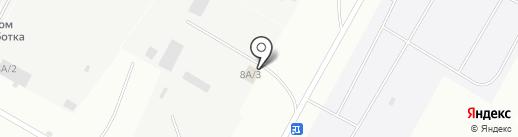 Недра, ЗАО на карте Ноябрьска