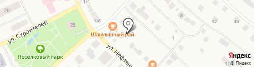 Умка на карте Ханымея