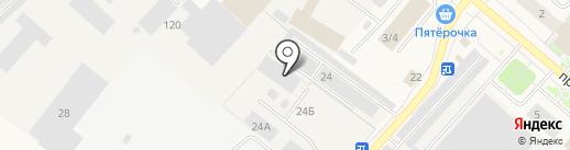 Автоспец на карте Мегиона