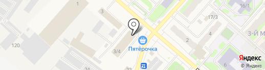 Stock-center на карте Мегиона