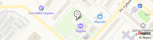 Платежный терминал, Газпромбанк на карте Мегиона