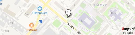 Мегионский городской суд Ханты-Мансийского автономного округа-Югры на карте Мегиона