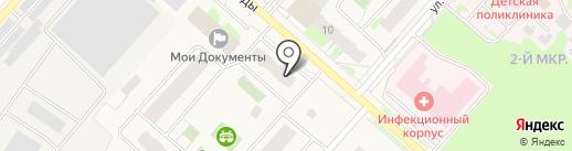 Гарант Сервис, ТСЖ на карте Мегиона