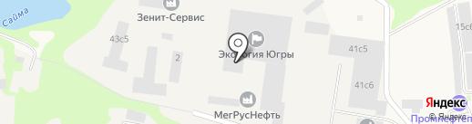 Автоспецкомплект на карте Мегиона
