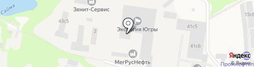 Техпромсервис на карте Мегиона