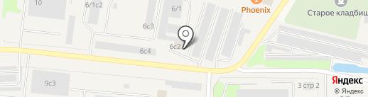Хим-авто на карте Мегиона