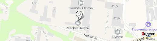 Семейный доктор на карте Мегиона