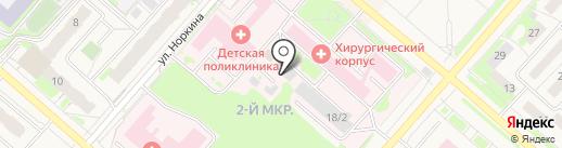 Бюро судебно-медицинской экспертизы Ханты-Мансийского автономного округа-Югры на карте Мегиона