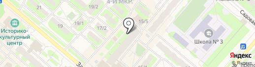 Почтовое отделение №4 на карте Мегиона